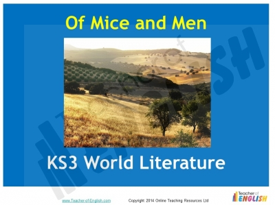 Of Mice and Men (KS3)