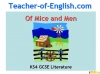 Of Mice and Men (sample) (slide 1/12)