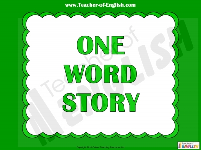 One Word Story