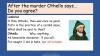 Othello Teaching Resources (slide 221/224)