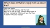 Othello Teaching Resources (slide 51/224)