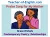 Praise Song for My Mother Teaching Resources (slide 1/40)