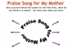 Praise Song for My Mother Teaching Resources (slide 14/40)