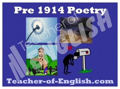 Pre 1914 Poetry Pack Teaching Resources