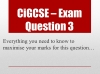 Preparing for the Cambridge IGCSE English Exam (slide 24/34)