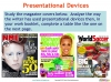 Presentational Devices Teaching Resources (slide 8/8)