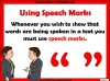 Punctuating Speech Teaching Resources (slide 3/13)