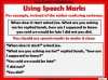 Punctuating Speech Teaching Resources (slide 4/13)