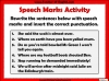 Punctuating Speech Teaching Resources (slide 6/13)