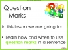 Question Marks Teaching Resources (slide 2/10)