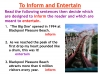 Reading Non Fiction and Media Texts (slide 22/104)