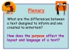 Reading Non Fiction and Media Texts (slide 27/104)