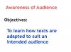 Reading Non Fiction and Media Texts (slide 3/104)