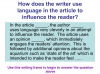Reading Non Fiction and Media Texts (slide 93/104)