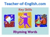 Rhyming Words Teaching Resources (slide 1/11)