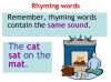 Rhyming Words Teaching Resources (slide 10/11)