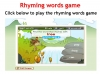 Rhyming Words (slide 11/11)