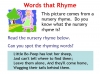 Rhyming Words Teaching Resources (slide 6/11)