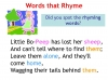 Rhyming Words (slide 7/11)