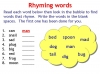 Rhyming Words (slide 8/11)