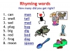 Rhyming Words (slide 9/11)
