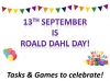 Roald Dahl Day - Activities and Games to Celebrate Teaching Resources (slide 1/35)