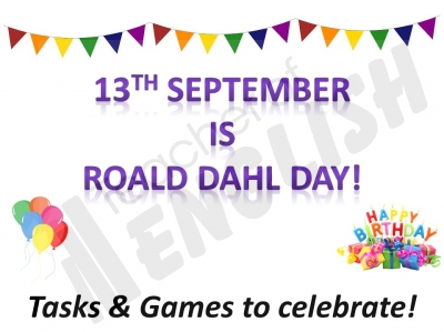 Roald Dahl Day - Activities and Games to Celebrate