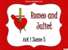 Romeo and Juliet - Act 1 Scene 5 Teaching Resources (slide 1/11)