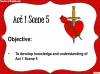 Romeo and Juliet - Act 1 Scene 5 Teaching Resources (slide 2/11)