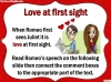Romeo and Juliet - Act 1 Scene 5 Teaching Resources (slide 5/11)