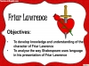 Romeo and Juliet - Friar Lawrence and the Wedding Teaching Resources (slide 2/13)