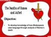 Romeo and Juliet - The Deaths of Romeo and Juliet Teaching Resources (slide 2/7)