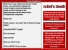 Romeo and Juliet - The Deaths of Romeo and Juliet Teaching Resources (slide 5/7)