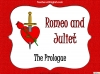 Romeo and Juliet - The Prologue Teaching Resources (slide 1/10)