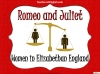 Romeo and Juliet - Women in Elizabethan England Teaching Resources (slide 1/8)