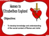 Romeo and Juliet - Women in Elizabethan England Teaching Resources (slide 2/8)