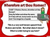 Romeo and Juliet KS2 (slide 116/234)
