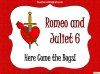 Romeo and Juliet KS2 (slide 42/234)