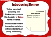 Romeo and Juliet KS2 (slide 74/234)