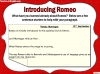Romeo and Juliet KS2 (slide 75/234)