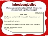 Romeo and Juliet KS2 (slide 87/234)