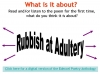 Rubbish at Adultery (Hannah) (slide 7/34)