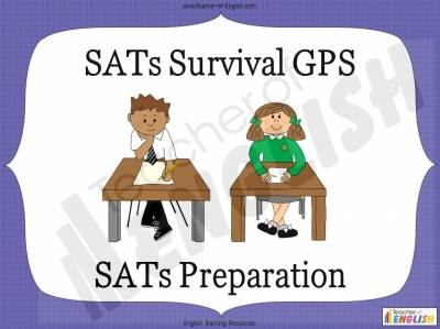 SATs Survival GPS Teaching Resources
