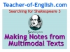 Searching for Shakespeare (slide 26/40)