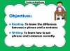 Sentences and Phrases Teaching Resources (slide 2/9)