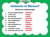Sentences and Phrases Teaching Resources (slide 6/9)