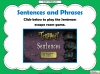 Sentences and Phrases Teaching Resources (slide 9/9)