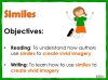 Similes Teaching Resources (slide 2/11)