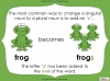 Singular Nouns to Plural Nouns  - Year 1 Teaching Resources (slide 11/67)