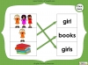 Singular Nouns to Plural Nouns  - Year 1 Teaching Resources (slide 17/67)